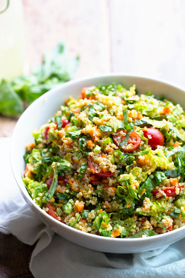 9 Vegetarian Quinoa Recipes You will Love!!