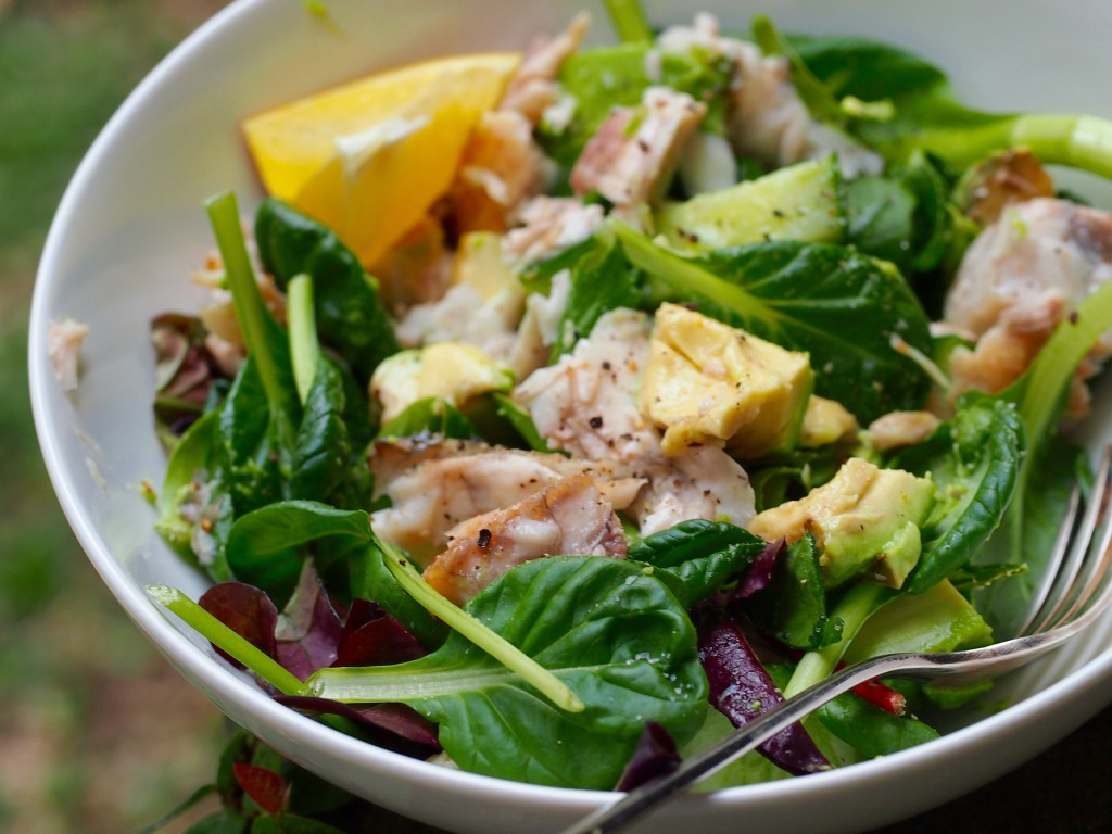 Throw Together Avocado & Barramundi Salad for Glowing Skin