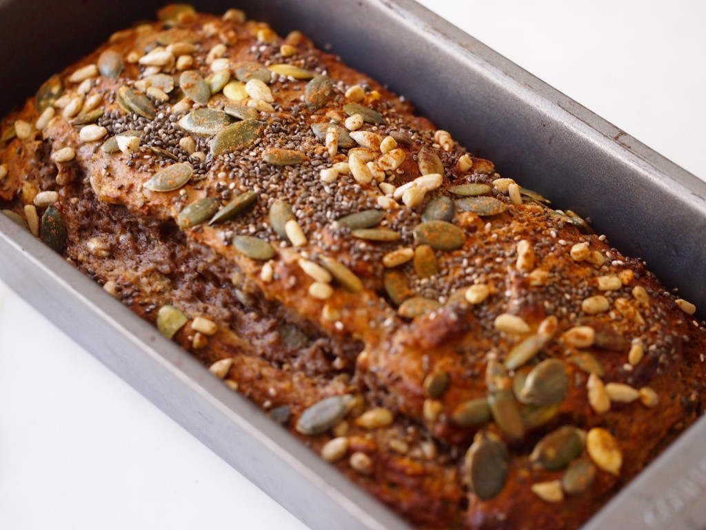 Seeded Cinnamon Spice Banana Bread Recipe