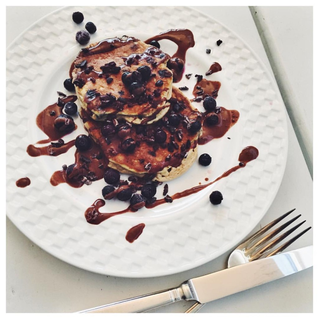 Blueberry & Cocao Pancakes – Grain Free