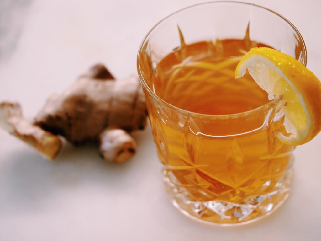 how to make one cup ginger tea