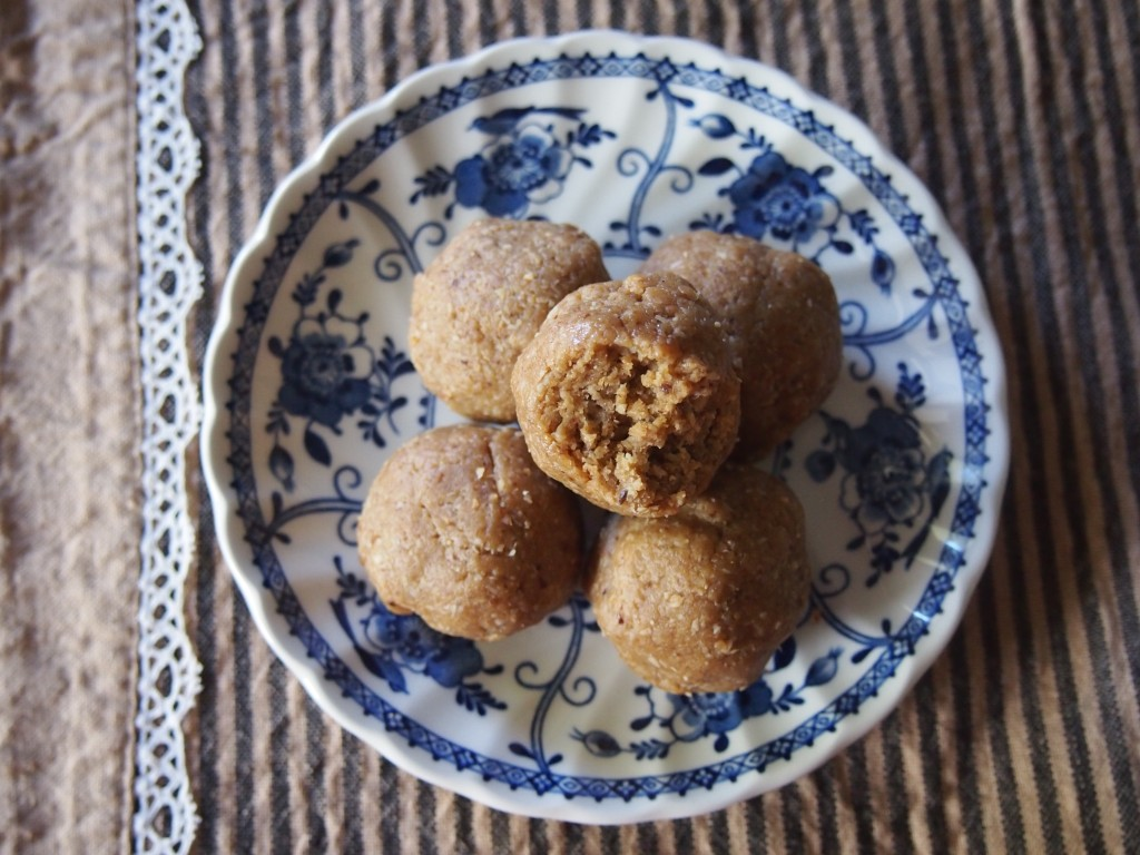 Ginger Fudge Bliss Balls