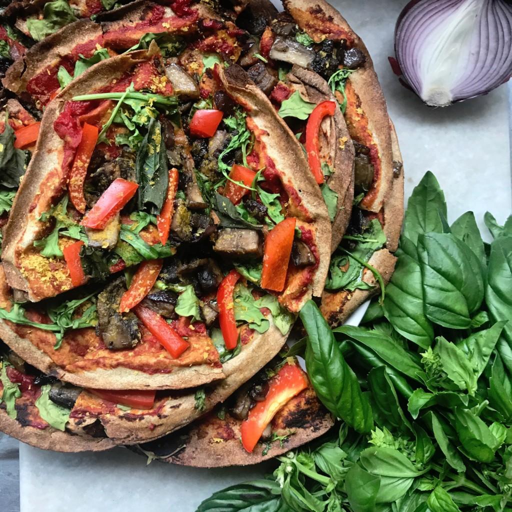 Easy Vegan Pizza!