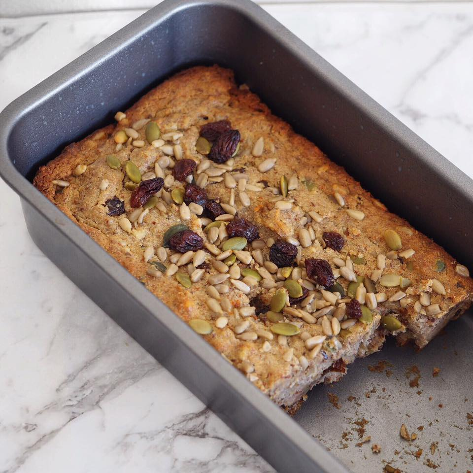 Paleo Banana Bread- sugar free recipe!