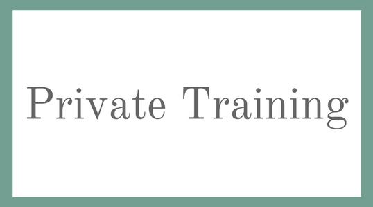 Balmain Private Training